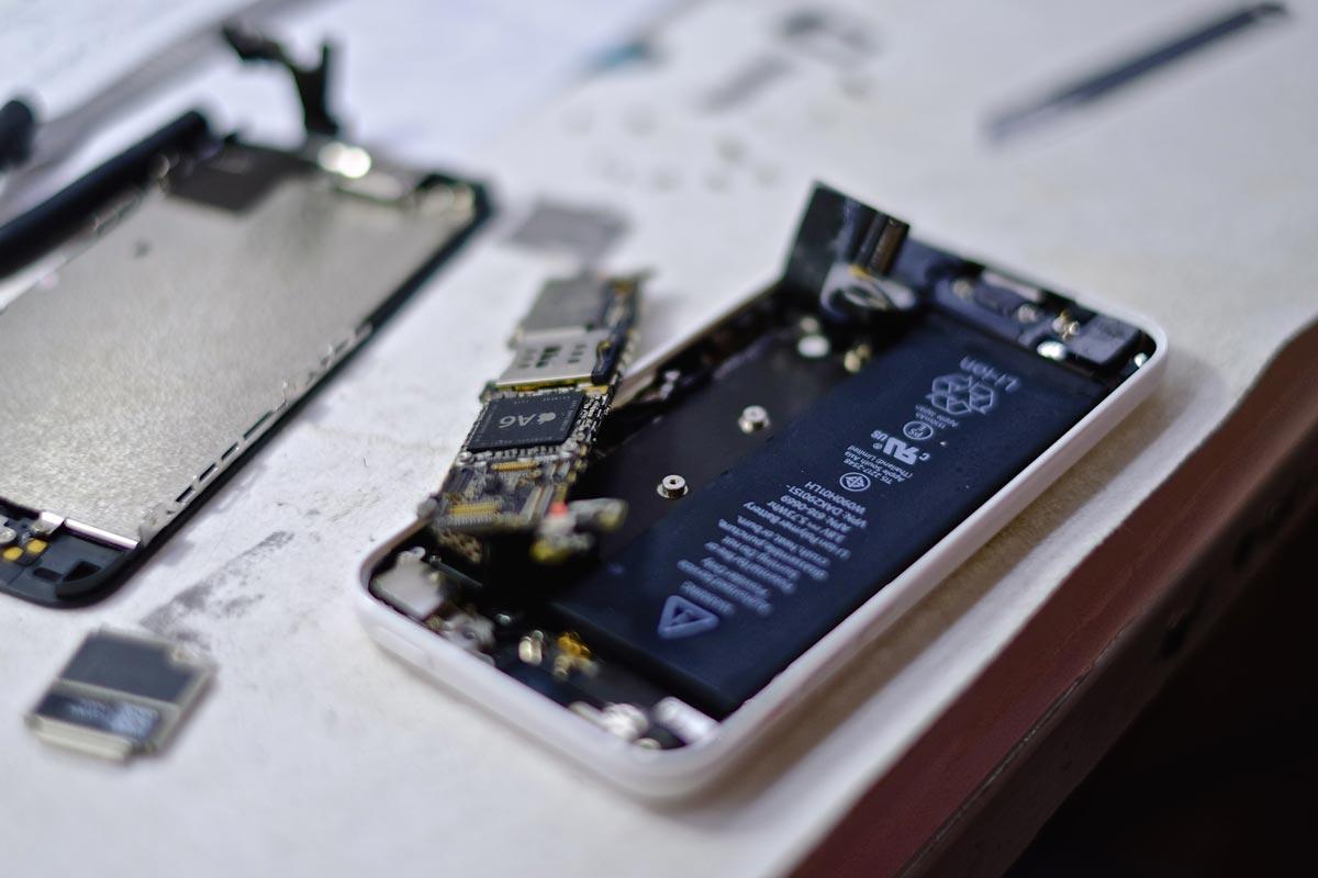 El corazón de este iPhone: el chip A6
