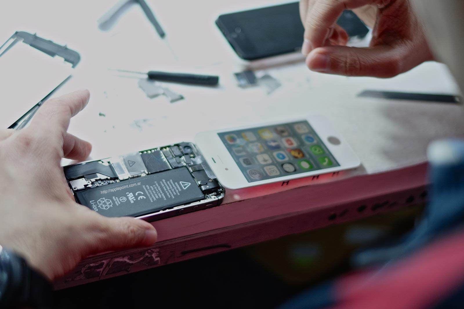 Técnicos especializados en equipos Apple